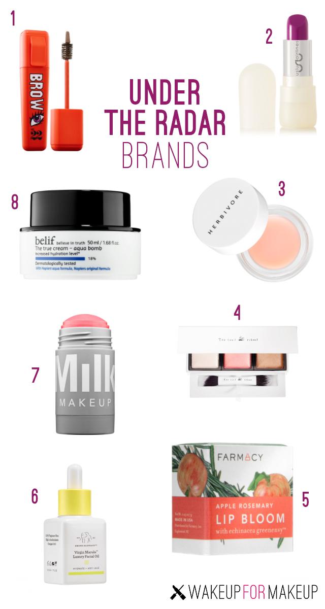 Under the Radar Beauty Brands