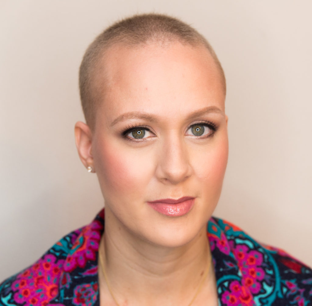 93f076158c0 Jessie reached out, posing the idea of a tutorial for those who have lost  their hair. She expressed interest in learning how to realistically bulk up  her ...